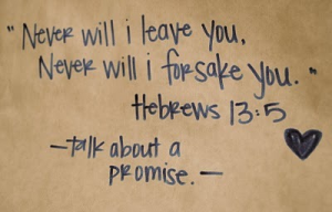 Talk About A Promise